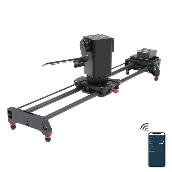 "GVM 3D 3-Axis Wireless Carbon Fiber Motorized Slider with Bluetooth Remote (32"") - GVMLED"