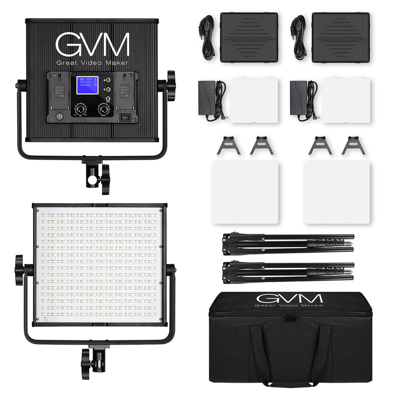 GVM 50RS RGB LED Lights Panel - GVMLED