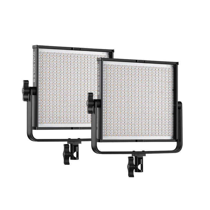 GVM 520LS-B Bi-Color LED Video Light Panel Kit - GVMLED