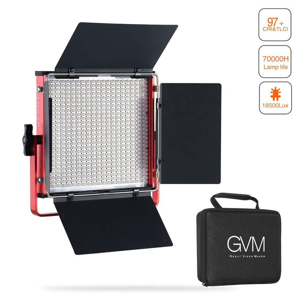 GVM-520LS-R Bi-Color Video Light - GVMLED