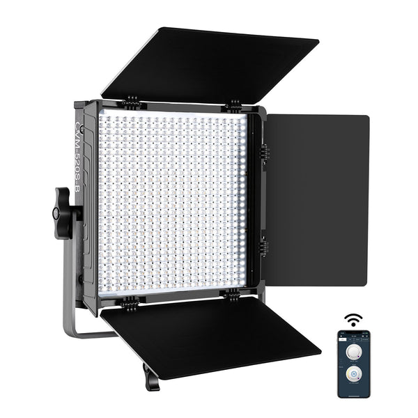 GVM 520S-B Bi-Color LED Studio Video Light Panel Kit - GVMLED