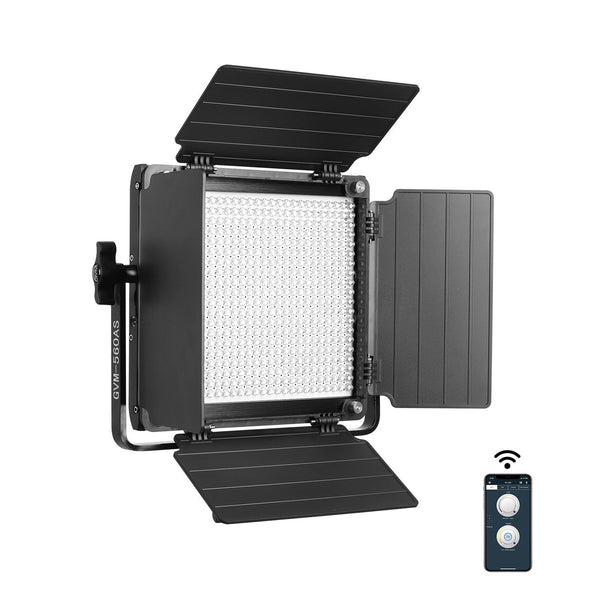GVM 560AS Bi-Color LED Panel With Stand(BOGO) - GVMLED