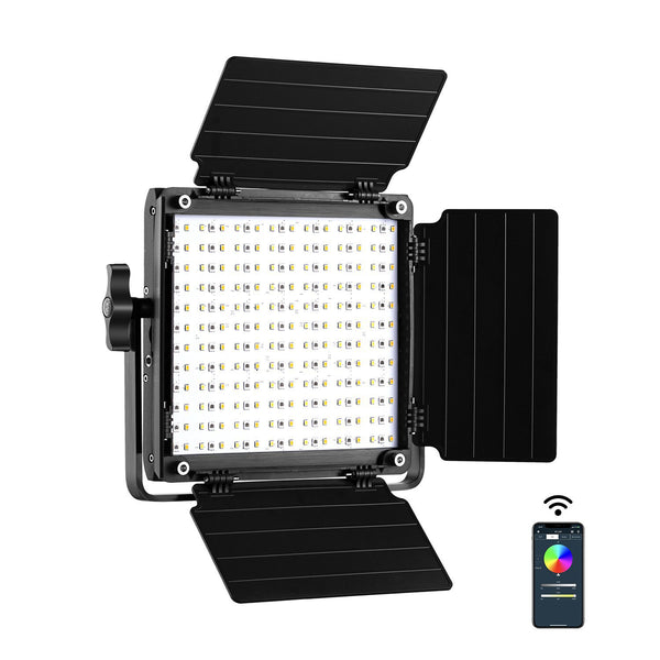 GVM 800D-RGB LED Studio Video Light - GVMLED