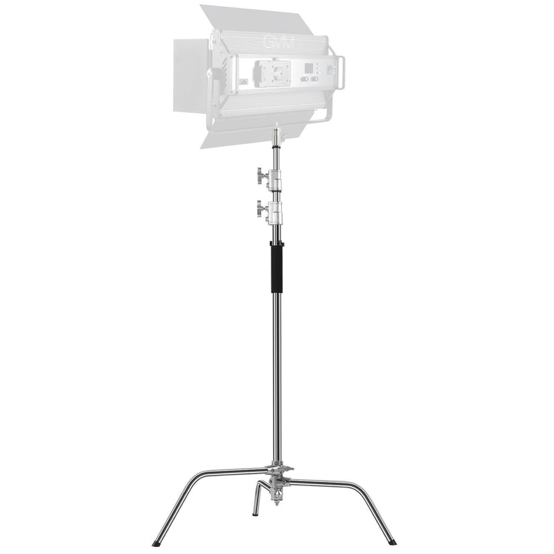 GVM C360 Turtle-Base C-Stand & Grip Arm Kit (10.5') - GVMLED
