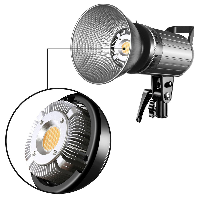 GVM G100W Bi-Color LED Video Light Kit with Lantern Softbox - GVMLED