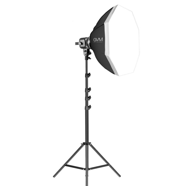 GVM LED Video Soft Light (Daylight-Balanced) LS-p80s LED 1-Light Kit with Softbox - GVMLED