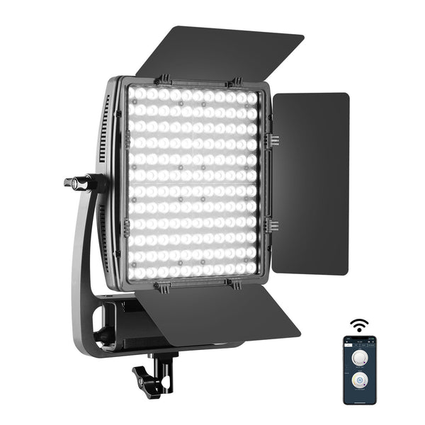GVM LT-50S Bi-Color LED Video Light Panel With Stand(BOGO) - GVMLED