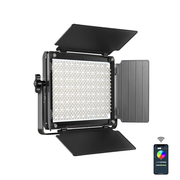 GVM RGB LED Studio Video Light Bi-Color Soft Light Panel 1000D(BOGO) - GVMLED