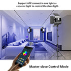 RGB Video Light LED Video Light Studio Video Lighting Kit Photography Lighting Continuous Light GVM 800D 3 Packs Led Light Panel Kit - GVMLED