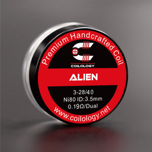 Alien Coil Handmade 2pcs/box for RDA, RTA, REBUIDABLE ATOMIZER