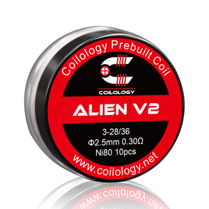 Alien V2 NEW Released Prebuilt Coils 10PCS/BOX