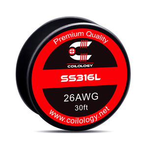 Raw Materials NI80 and SS316L of coils 24GA 26GA, 28GA, 32GA 30FT