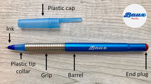 Custom Text: Baux Pen (premium grip)