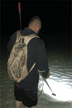 Load image into Gallery viewer, Flounder Light Backpack Model