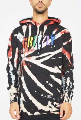 Grizzly InciteTie-Dye Popover Hoodie