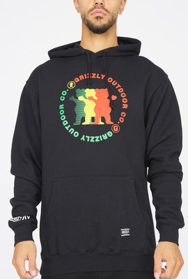 Grizzly Faceoff Popover Hoodie