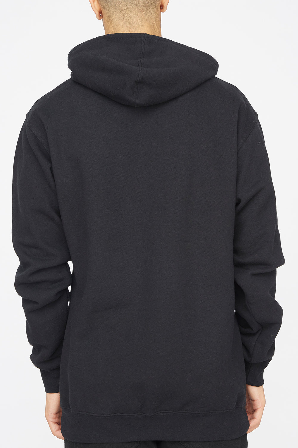 Grizzly Faceoff Popover Hoodie Black