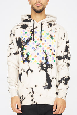 Grizzly Luxury Tie-Dye Popover Hoodie