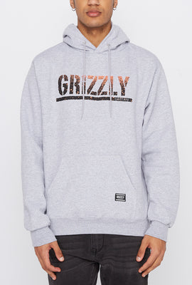 Grizzly Mens Gradient Logo Hoodie
