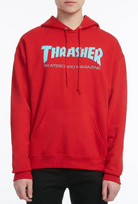 Thrasher Mens Red Hoodie