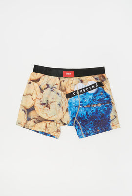 Undz Mens Cookie Monster Boxer Brief