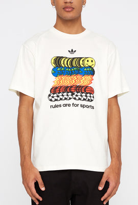 T-Shirt Rules Are For Sports Adidas Homme