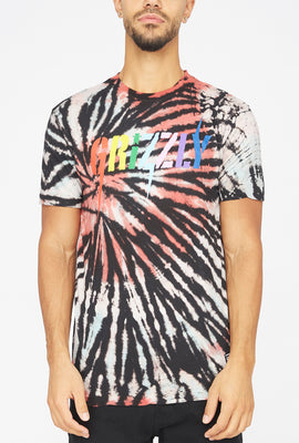 Grizzly Incite Tie-Dye T-Shirt