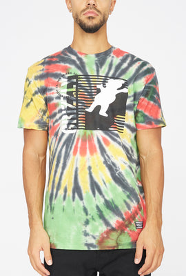 Grizzly Lined Up Tie-Dye T-Shirt