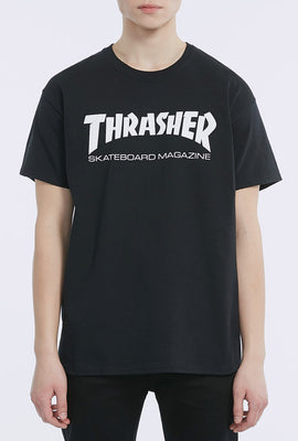 Thrasher Mens Black T-Shirt
