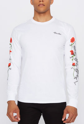 Primitive Mens Rose Long Sleeve