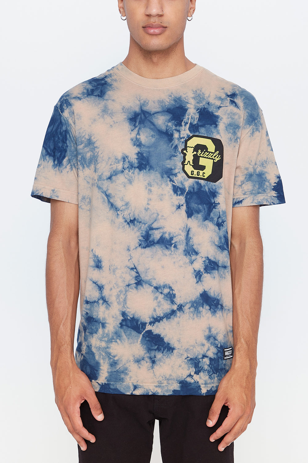 Grizzly Mens GGC Logo T-Shirt Multi