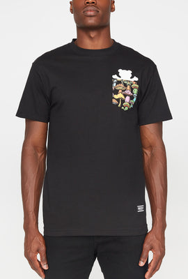 Grizzly Mens Pocket T-Shirt