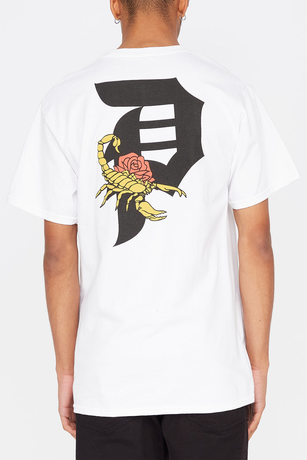 Primitive Mens Dirty P Scorpion T-Shirt White