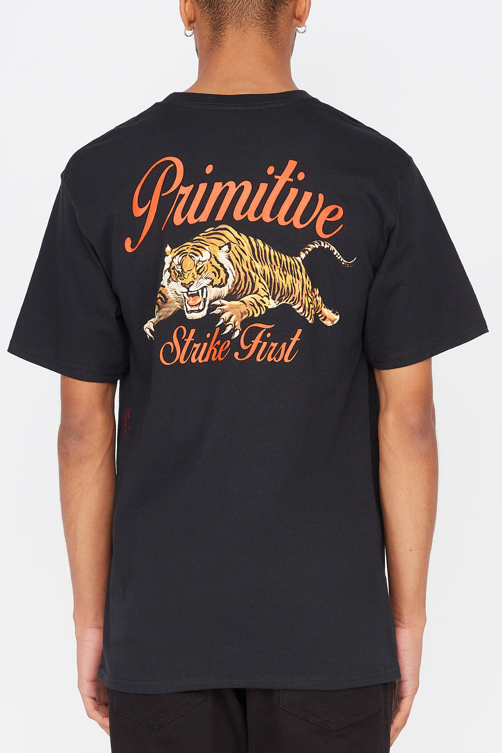 T-Shirt Untamed Primitive Homme Noir