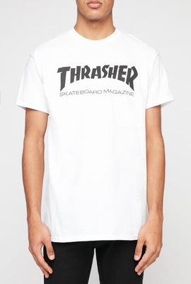 Thrasher Mens White T-Shirt