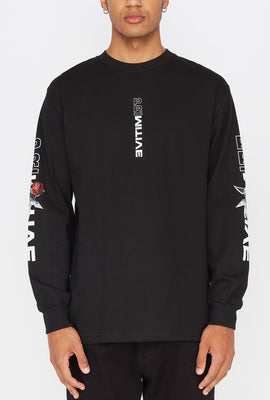Primitive Mens Threat Long Sleeve Shirt