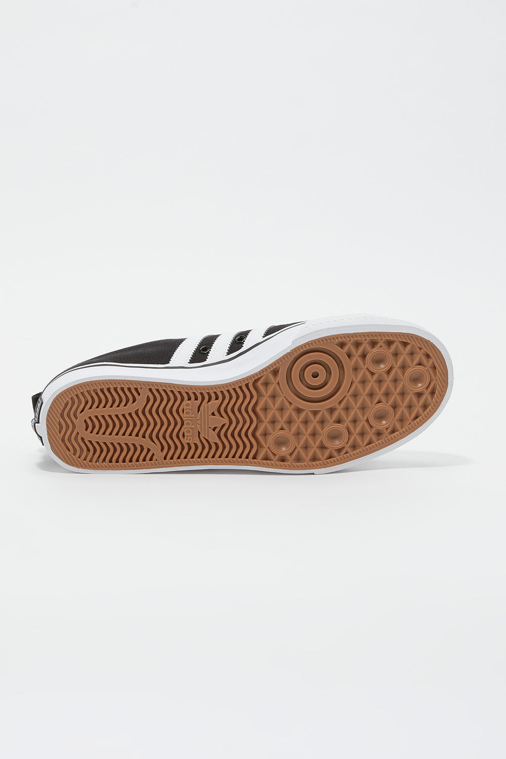 Adidas Mens Nizza Shoes Black with White