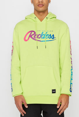 Young & Reckless Mens Gradient Logo Hoodie