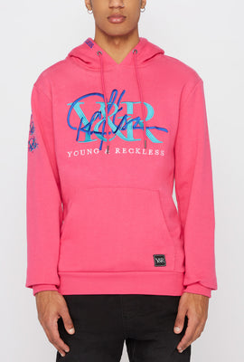 Young & Reckless Mens Cursive Logo Hoodie
