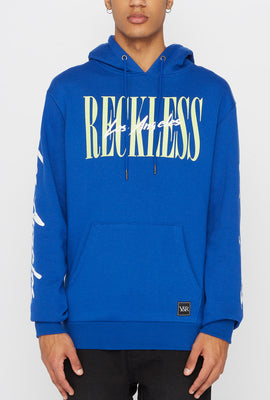Young & Reckless Mens 90s Style Logo Hoodie