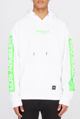 Young & Reckless Mens Neon Logo Popover Hoodie