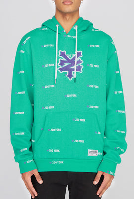 Zoo York Mens Chenille Patch Logo Hoodie
