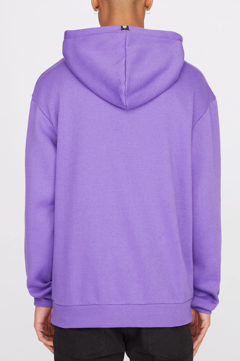 Zoo York Mens Classic Logo Hoodie Purple