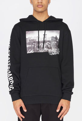 Zoo York Mens Photo Print Hoodie