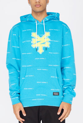 Zoo York Mens Chenille Patch Hoodie