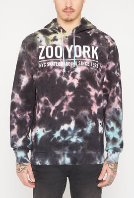 Zoo York Mens 5 Boroughs Tie-Dye Hoodie