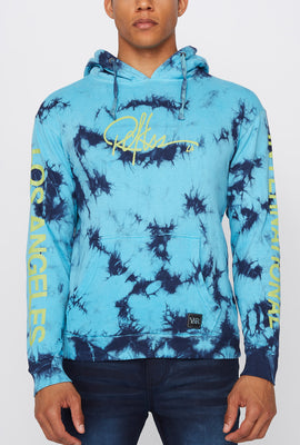 Young & Reckless Mens LA Tie-Dye Pullover Hoodie