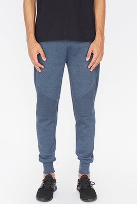 West49 Mens Solid Moto Jogger