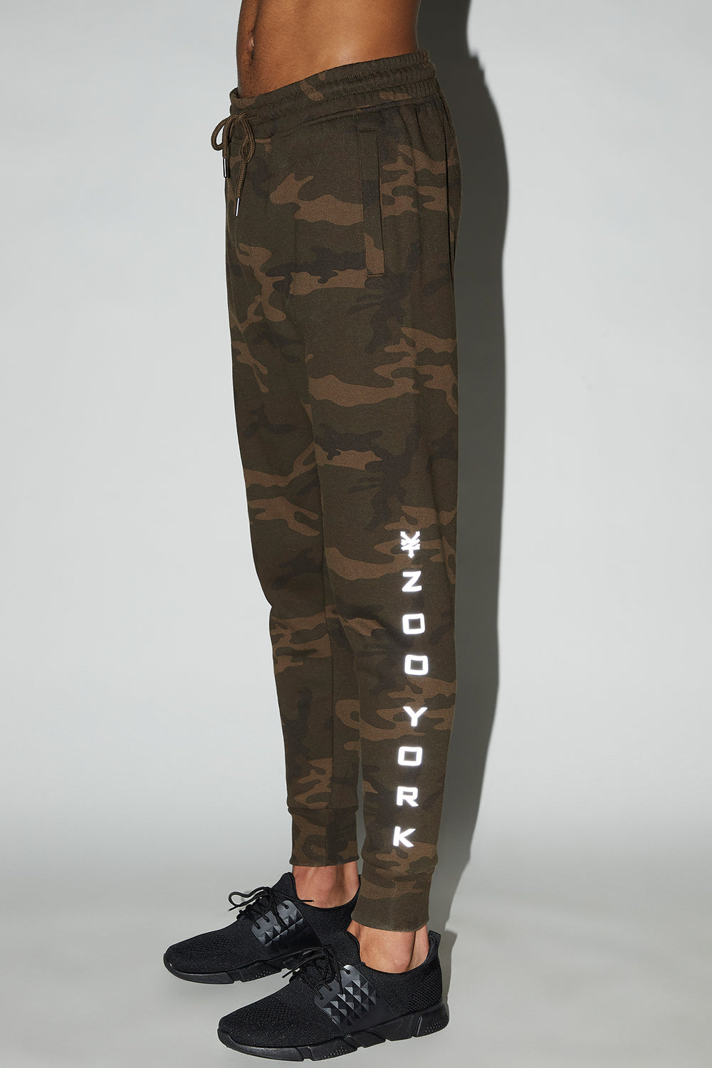 Jogger Camouflage Réfléchissant Zoo York Homme Camoufle
