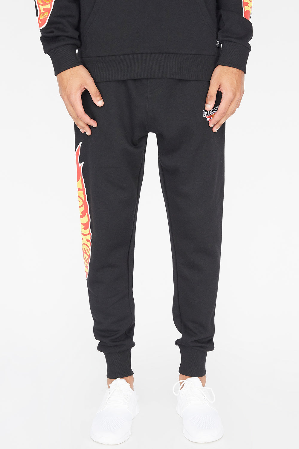 Jogger Hot Wheels X West49 Homme Noir